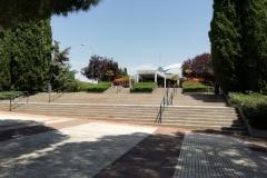 JHUN 76 EJECUCIÓN DE QUIOSCO BAR EN LA PLAZA DE PILAR MIRÓ DE MADRID